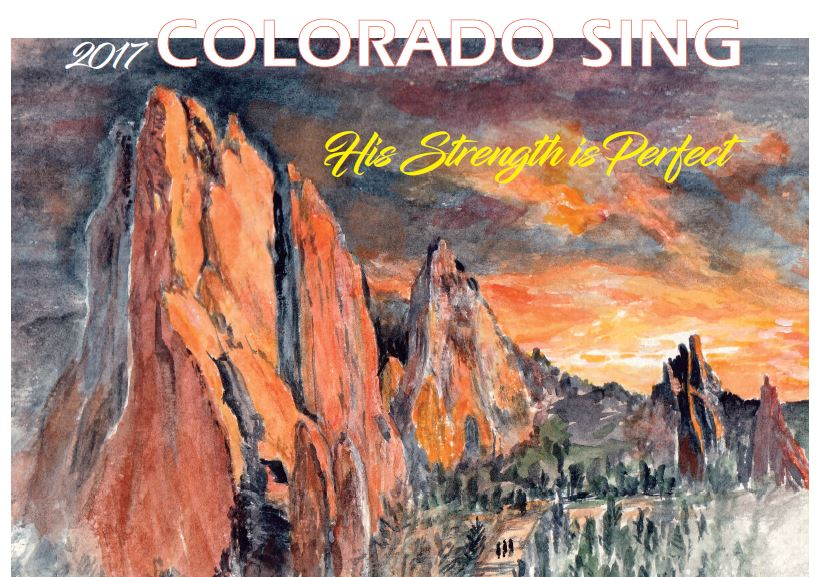 Colorado Sing 2017 - Garden of the Gods Banner